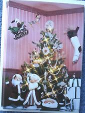 "1986 Mint 8 Annalee Victorian Christmas Mr. & Mrs. Santa 5"" X 7"" Greeting Cards"