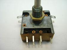 Stereo potenciómetro Preh 10k, Lin. con grabadores