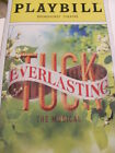 TUCK EVERLASTING Playbill Broadway Musical Terrence Mann Andrew Keenan-Bolger NY