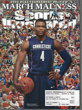 Sports Illustrated March 24 2008 Jeff Adrien UConn NCAA March Madness