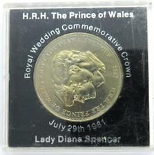 1981 Charles & Diana Royal Wedding Commemorative Crown Coin..