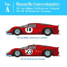 Ferrari 412P ver.A Maranello Concessionaires kit Model Factory Hiro K562 1:12