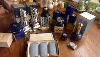 vintage avon Moonwind fragrance collection