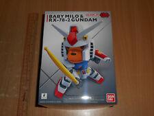 > Bandai Gundam Ape AAPE Baby Milo & RX-78-2 SD EX-Standard Model Kit 2018