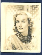 WONDERFUL PORTRAIT OF CAROLE LOMBARD - DIED TRAGICALLY YOUNG IN PLANE CRASH