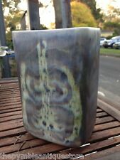 Large Abstract Art Aviemore Scotland Pottery Vase
