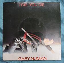"Gary Numan – I Die: You Die 7""– BEG 46 – Ex"
