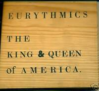 Eurythmics The King & Queen Of America CD Wooden Box A235