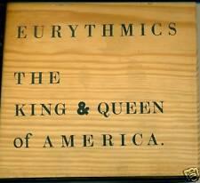 EURYTHMICS THE KING & QUEEN OF AMERICA CD BOÎTE EN BOIS A235