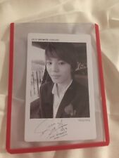 Infinite Sungjong Second Invasion Official Photocard Card Kpop K-pop Us Seller