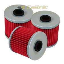 3 Pack Oil Filter FITS KAWASAKI MOJAVE 250 KSF250 KSF-250 KSF 250 1987-2004