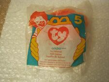 McDonald's Meals ty Brandy #5 Beanie Baby Goldie, dated 1996 (010)