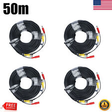 1~4Pcs 165ft 50M Video Power Bnc extend Cable for Cctv Security Camera System Us