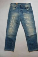 G-Star Raw 3301 Tapered heavy destroyed Ladies Jeans Ladies W32 L32 *REF55-11