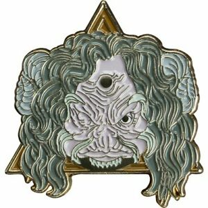 Highly Collectable Dark Crystal Aughra Stylized Excellent Quality Enamel Pin
