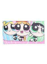 Cartoon Network The Powerpuff Girls Trifold Flap Wallet New With Tags!