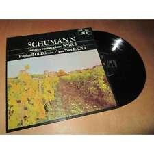 SCHUMANN: Violin & Piano sonatas 1 & 2   Oleg Rault / Hamonia Mundi stereo LP F