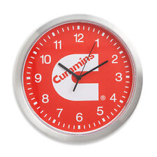 dodge cummins truck time clock office desk  shop red wall clock truck gift new