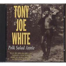 TONY JOE WHITE - Polk salad Annie - CD PORTUGAL 1993 USATO OTTIME CONDIZIONI
