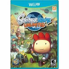 Scribblenauts Unlimited For Wii U Brand New 6E
