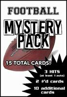 CLASSIC Football MYSTERY Pack - 3 GUARANTEED HITS! 15 total cards