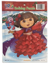 NEW Nickelodeon Dora the Explorer 12 Piece Holiday Puzzle Age 3+