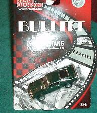 "ERTL/RACING CHAMPIONS 1968 FORD MUSTANG GREEN ""BULLITT"" MOVIE CAR 1/64"