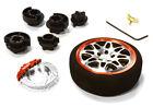 C26403GUNRED D8S Steering Wheel Set for Most HPI, Futaba, Airtronics, Hitec & KO
