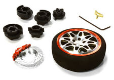 C26403GUNRED D8S Steering Wheel Set for Most HPI, Futaba, Airtronics, Hitec & KO