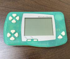 Bandai WonderSwan Handheld console Frozen Mint