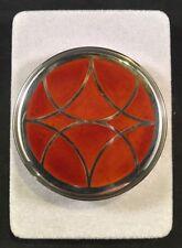 Rare Christofle Laque De Chine Cloisonné Lacquer Silverplate Jar - Original Box