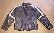 Authentic Belstaff War Of The Worlds Hero Boys Bison Leather Jacket EU Size 8