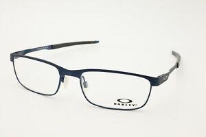Oakley Rx Eyeglasses Frames OX3222-0354 54-18-141 Steel Plate Powder Midnight
