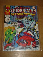 SPIDERMAN BRITISH WEEKLY #245 1977 OCT 19 MARVEL CAPTAIN BRITAIN