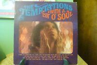 The Temptations - With A Lot O' Soul - Original 1967 Gordy 922 Mono LP - VG+