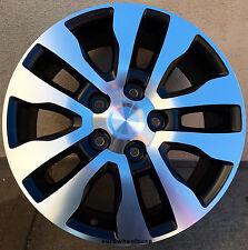 "20"" Wheels For Toyota Land Cruiser Sequoia Tundra 20x8 Black Machined Rims Set 4"