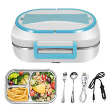 Electric Lunch Box Food Warmer Car Heater Container Portable Heating Storage