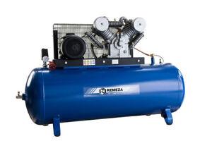 Remeza Druckluft Kompressor 15bar / 7,5 kW/11PS / 400 Volt / 500 Liter Kessel