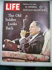 LIFE MAGAZINE JANUARY 10 1964 OLD SOLDIER LOOK BACK GENERAL DOUGLASS MACARTHUR