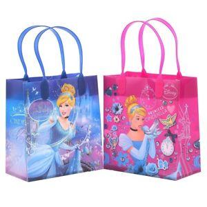 12PCS Disney Cinderella Goodie Party Favor Gift Birthday Loot Reusable Bags