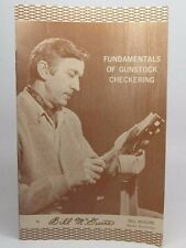 Fundamentals of Gunstock Checkering Gunsmithing Bill McGuire DEM-BART