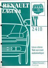 RENAULT  LAGUNA - NT 2410 - Lève-vitres, toit ouvrant automatique