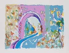 Olga Sheirr,Tunnel I,Litografia,Firmato E Numerato IN Matita