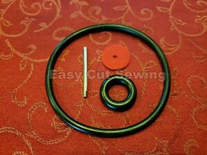 Sewing Machine Motor Belt, Bobbin Tire, Thread Pin ,Felt Kit Singer 66 ,99,127