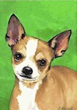 Artwork Garden Flag Chihuahua Dog Breed Small Outdoor Garden Flag made Usa