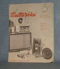 Electro-Voice Communications Equipment General Catalog 144