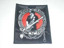 MOTORHEAD LEMMY EMBROIDERED PATCH
