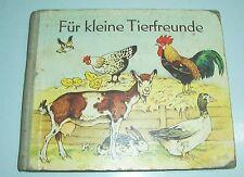 Fritz Baumgarten Pappbilderbuch Für kleine Tierfreunde 1958 DDR !