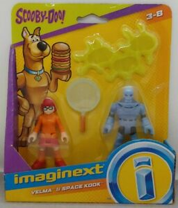 "Mattel Imaginext Scooby-Doo VELMA & SPACE KOOK 3"" Action Figure 2-Pack GBM84"