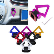 Purple Universal Car Truck Tow Towing Hook Front Rear Decorative Trailer Ring